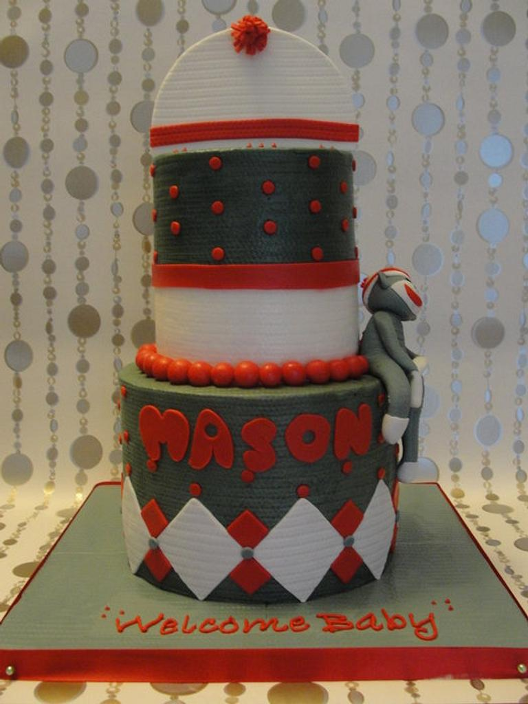 Sock Monkey by Justbakedcakes