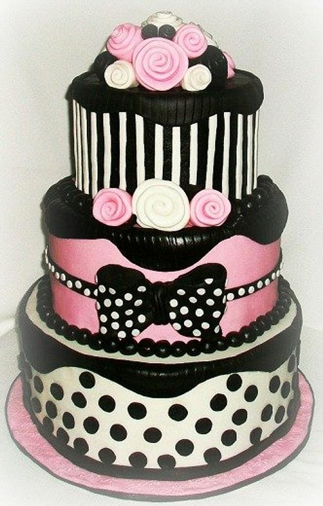 21st Birthday Cake by Mandy