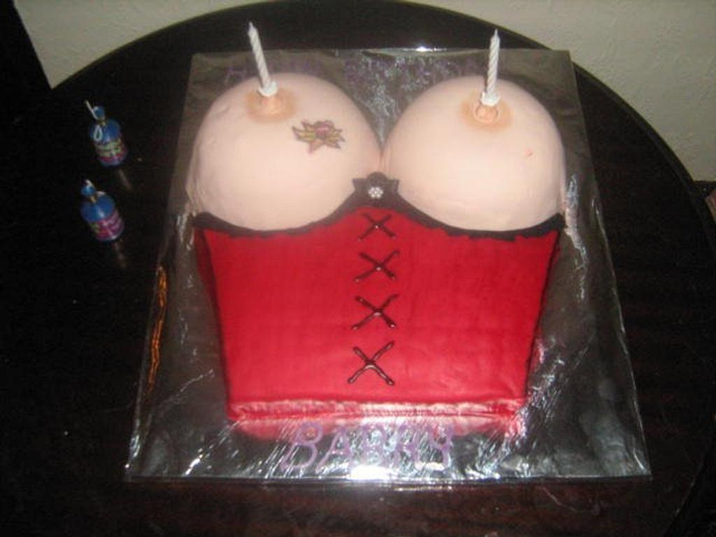 corset cake  by maggie thompson