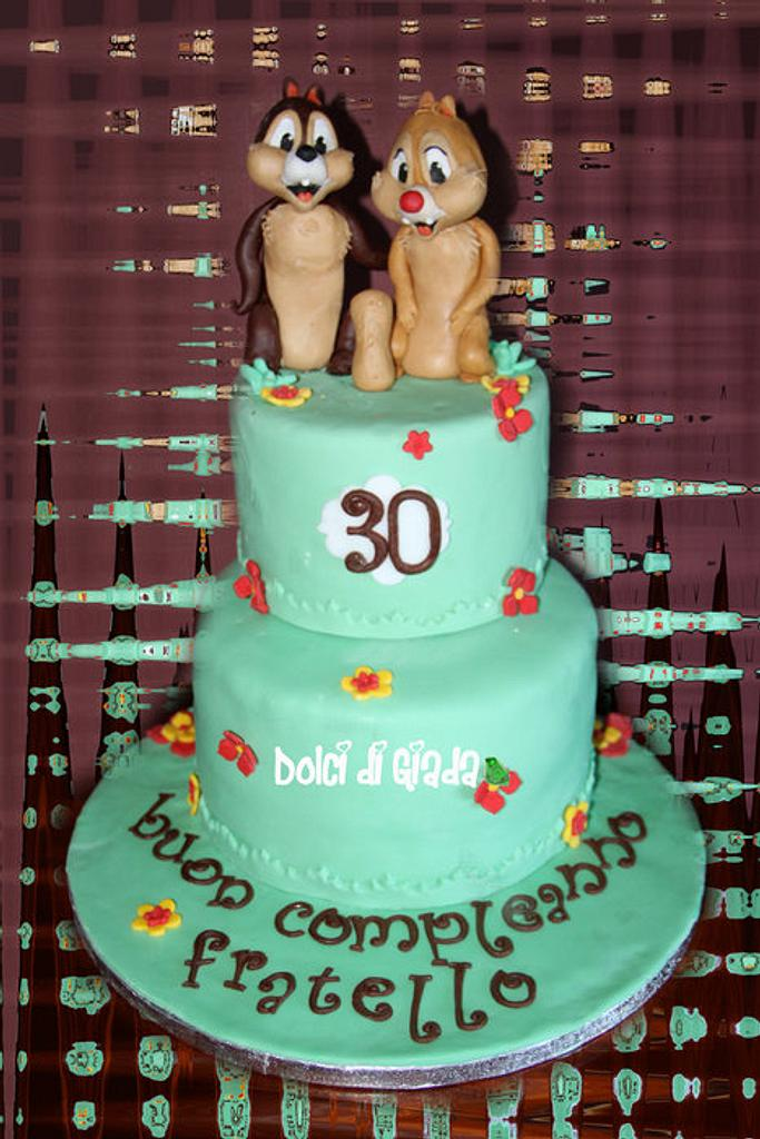 Cip & CIop Cake <3 by Valeria Giada Gullotta