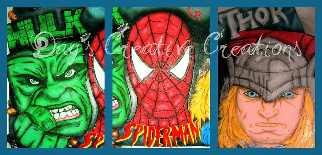 HULK/THOR/SPIDERMAN by Day