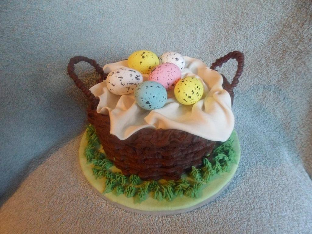 Easter Basket Cake by Rebecca Kenny