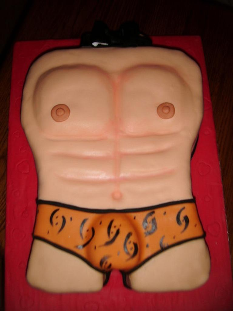 Torso Cake by Unsubscribe
