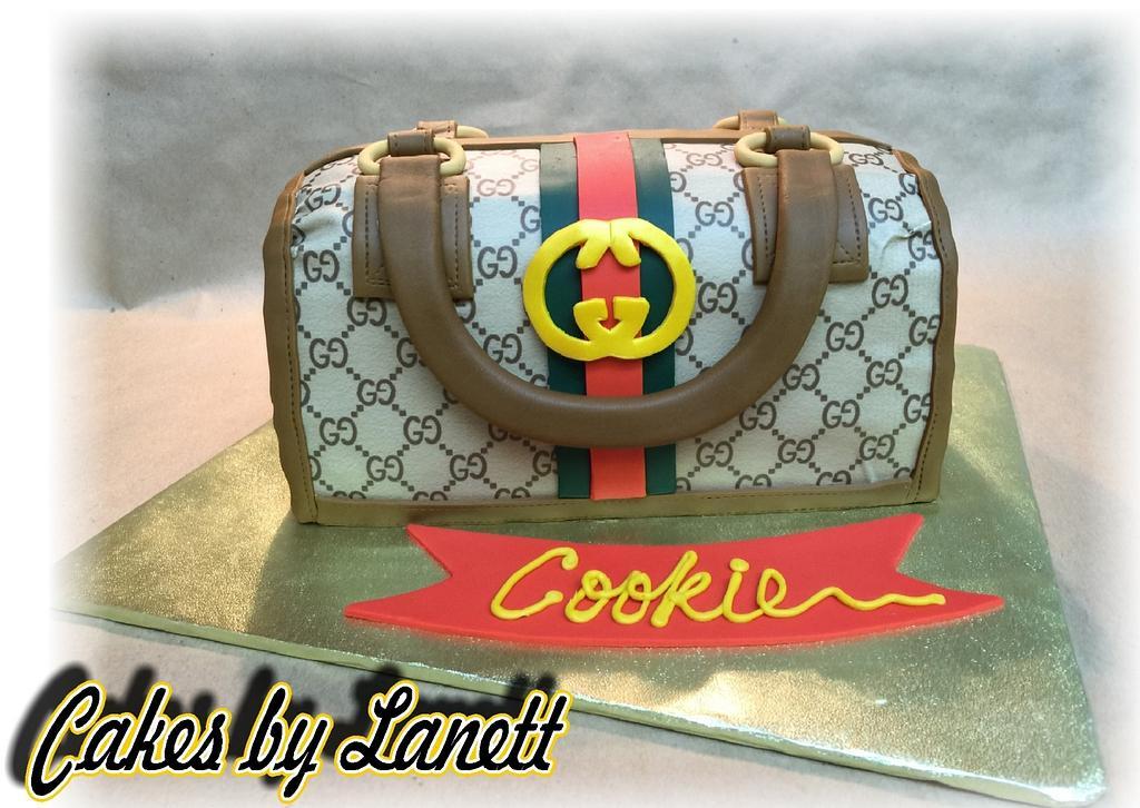 Gucci Purse Cake by lanett