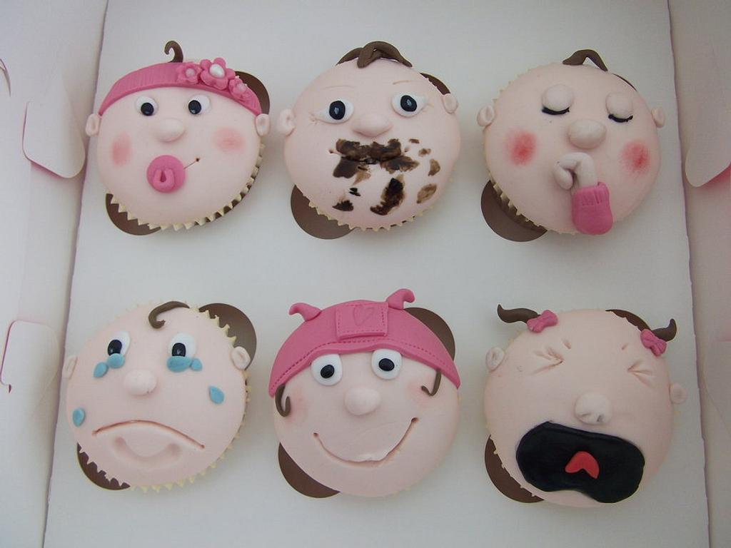Baby Girl <3 by Môn Cottage Cupcakes