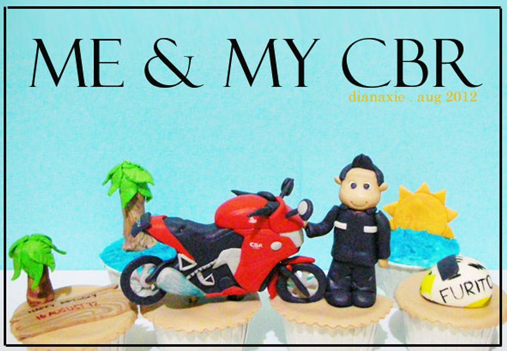 My CBR by Diana