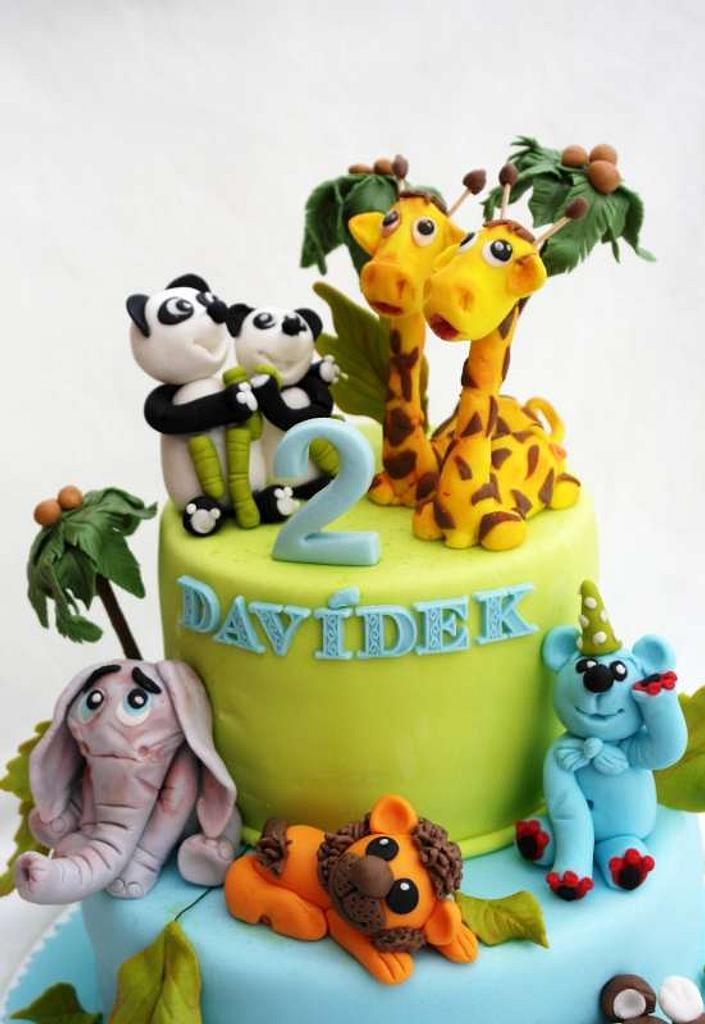 postavičky na dortu by Táji Cakes