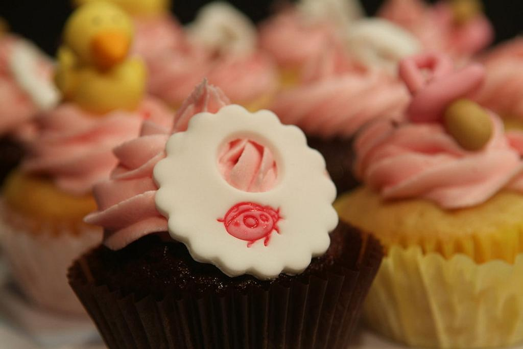 Pretty Pink Baby shower by Sheetal