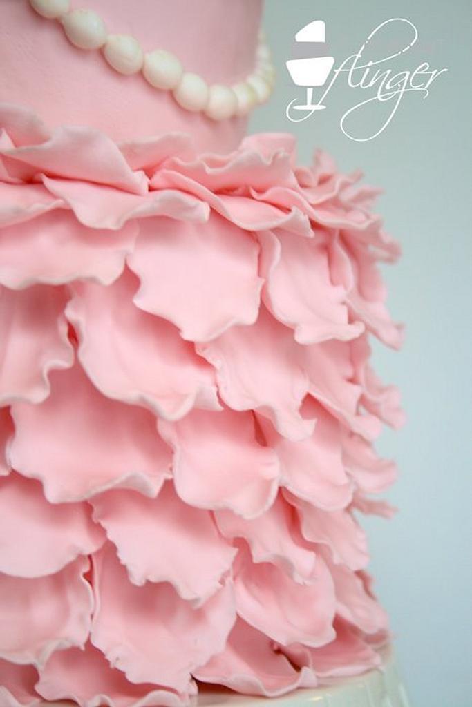 Petals and pearls by Rachel Skvaril