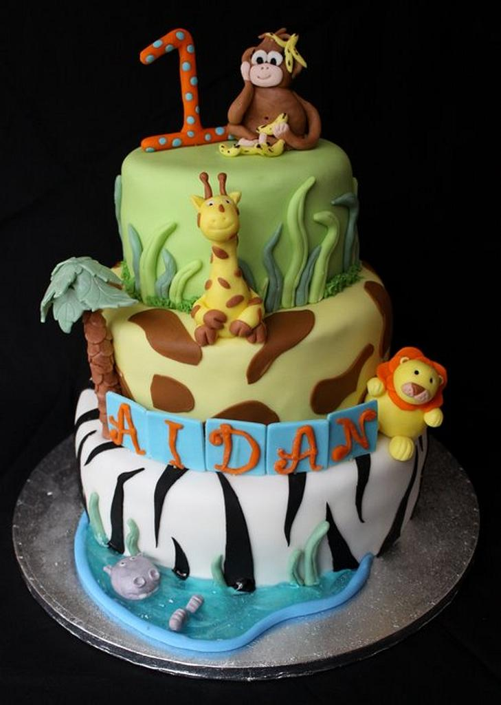 Jungle Cake by Jewell Coleman