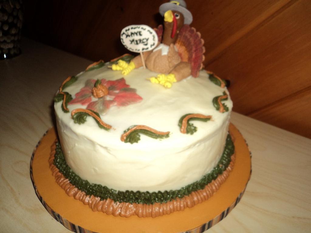 Thanksgiving Cake by Goreti