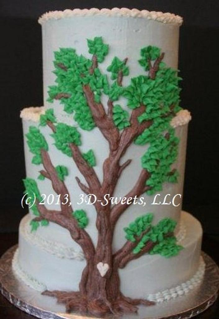 Tree Baby Shower by 3DSweets