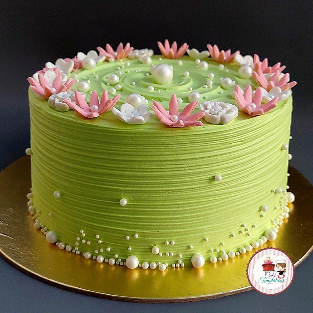 Birthday cake  by Cake Temptations