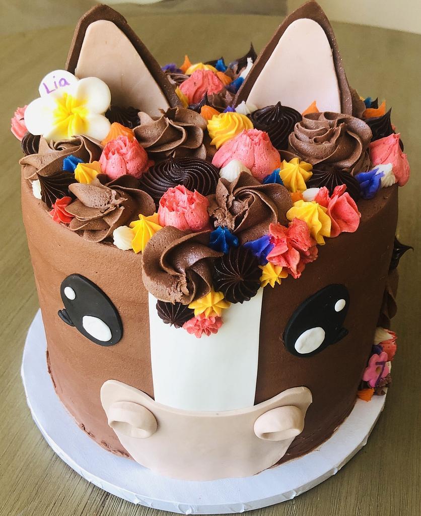 Horse cake by MerMade
