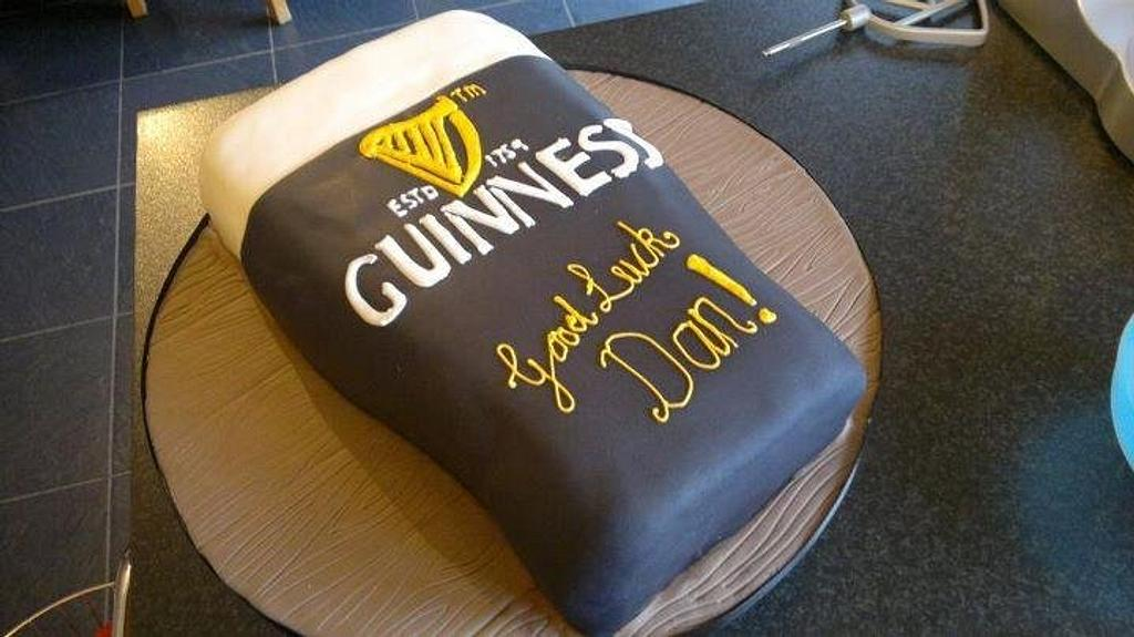 Chocolate Guinness cake by K Cakes