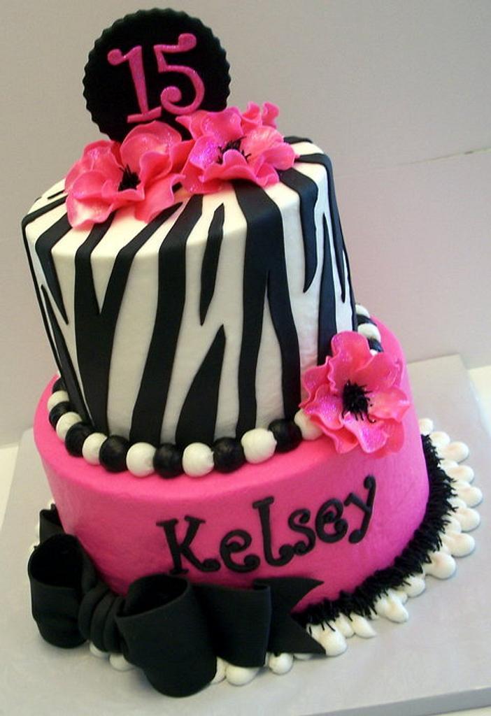 Zebra Birthday by Stephanie Dill