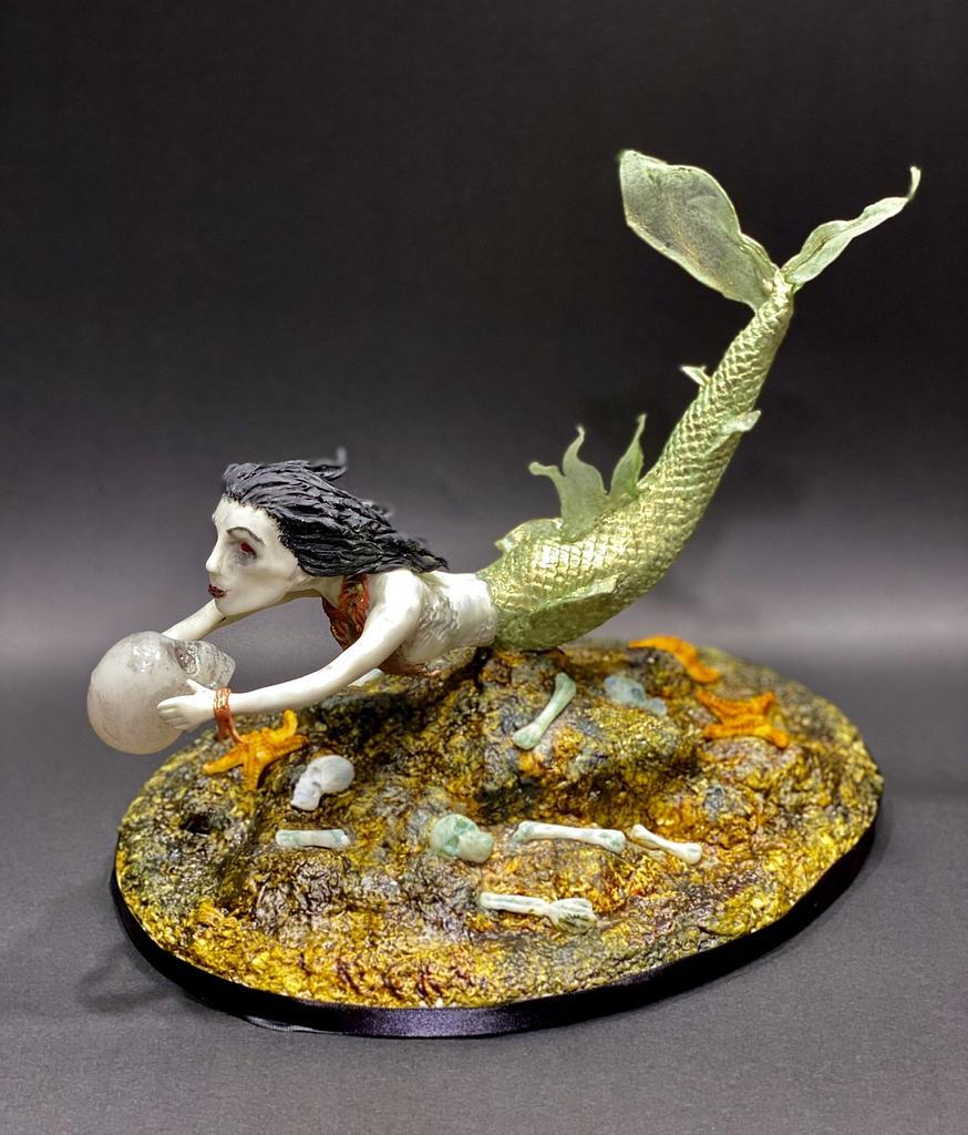 Creepy Siren  by Artistic Cake Designs