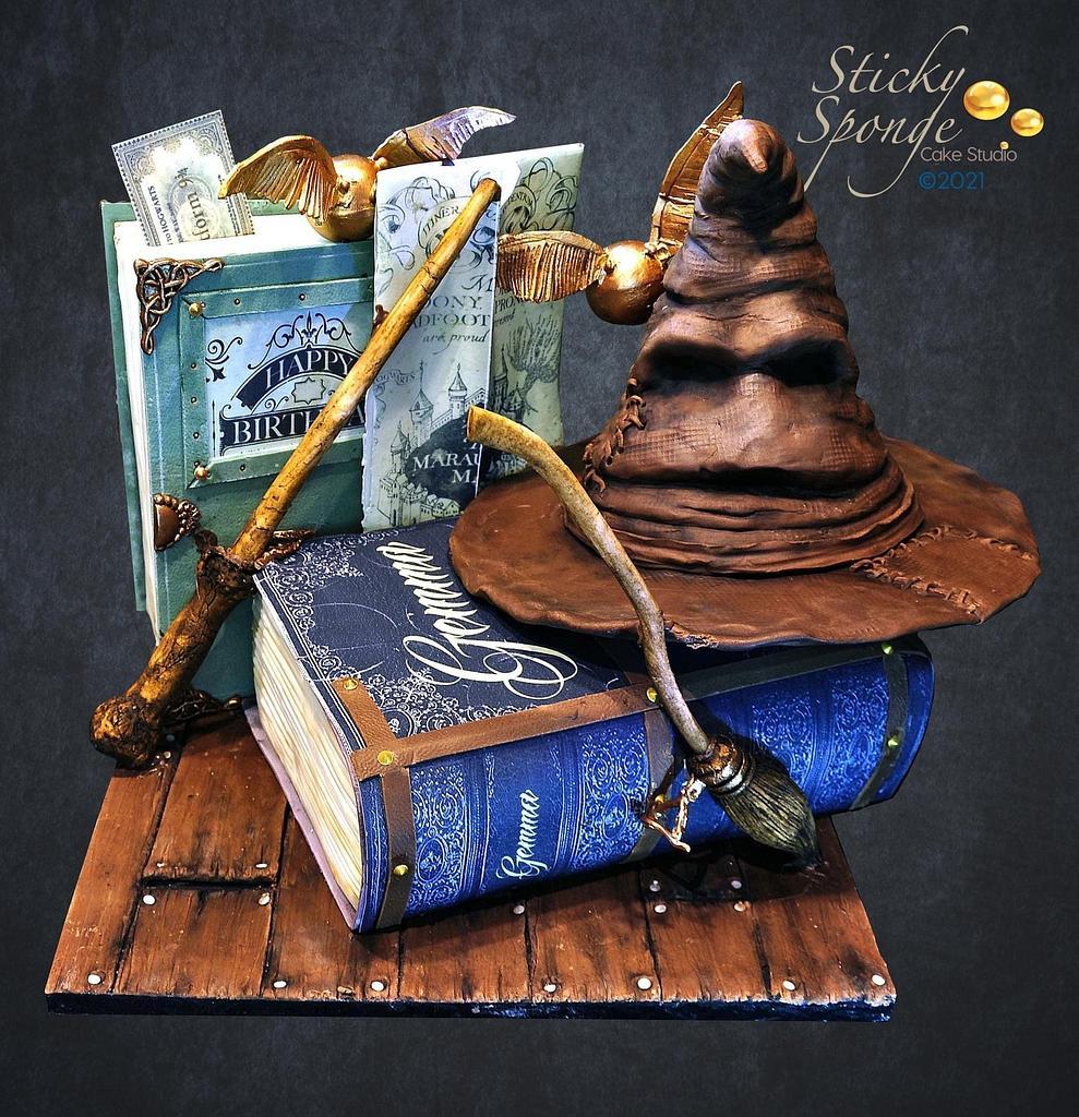 Harry Potter cake by Sticky Sponge Cake Studio