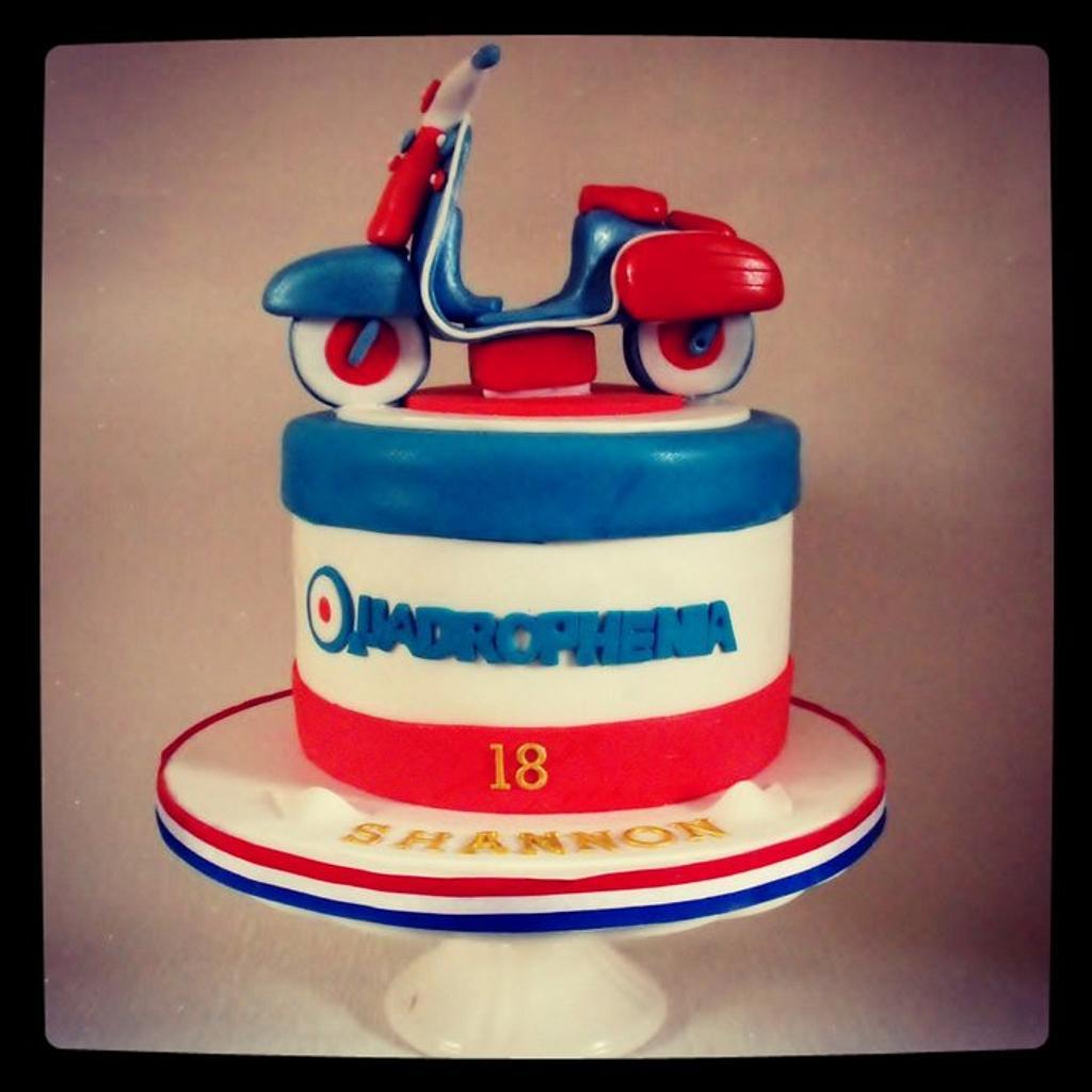 Quadrophenia cake by Dee