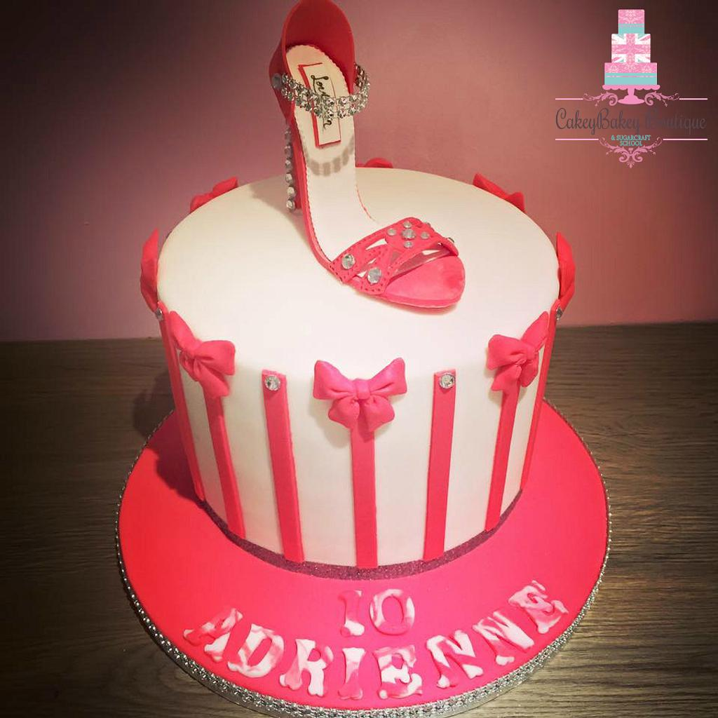 Shoe Cake by CakeyBakey Boutique