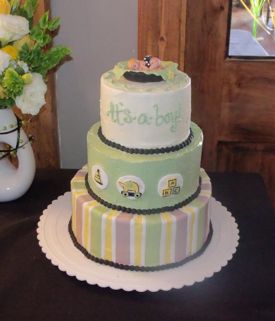 Stroller Fun cake by Jessica (Faughn) Beard