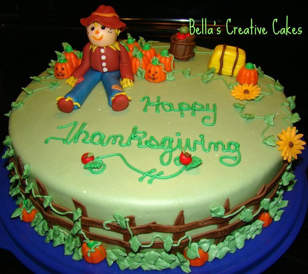 Thanksgiving cake  by Bela
