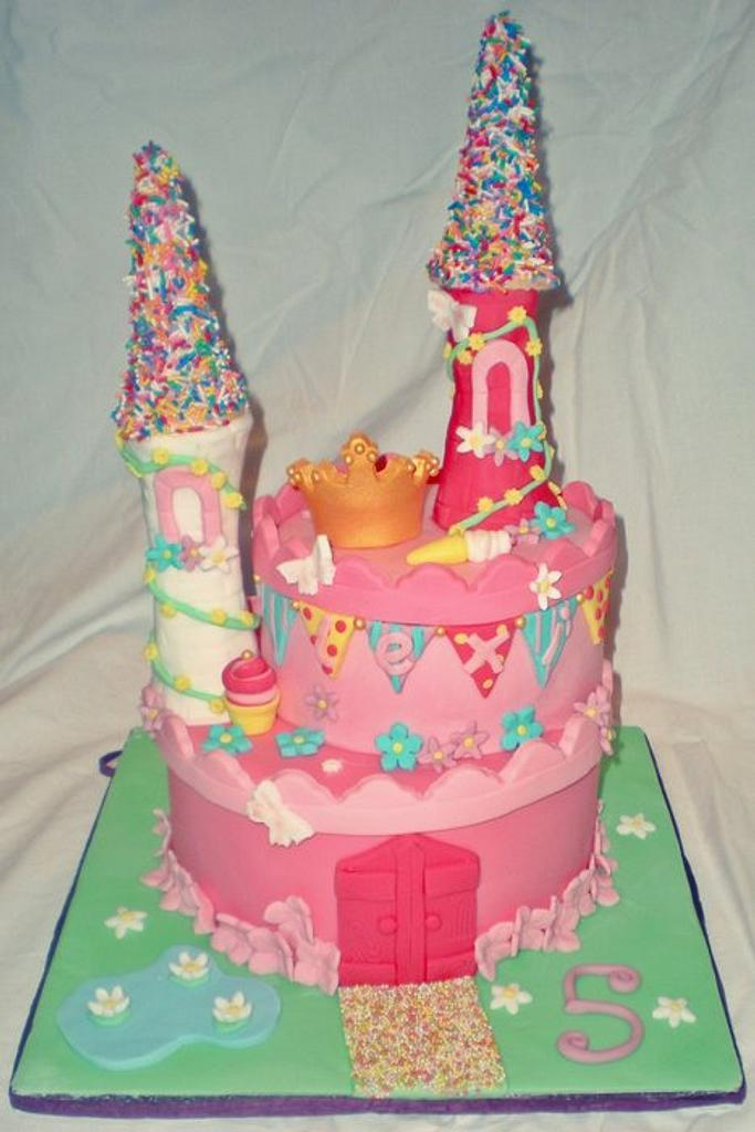 Princess castle  by Time for Tiffin