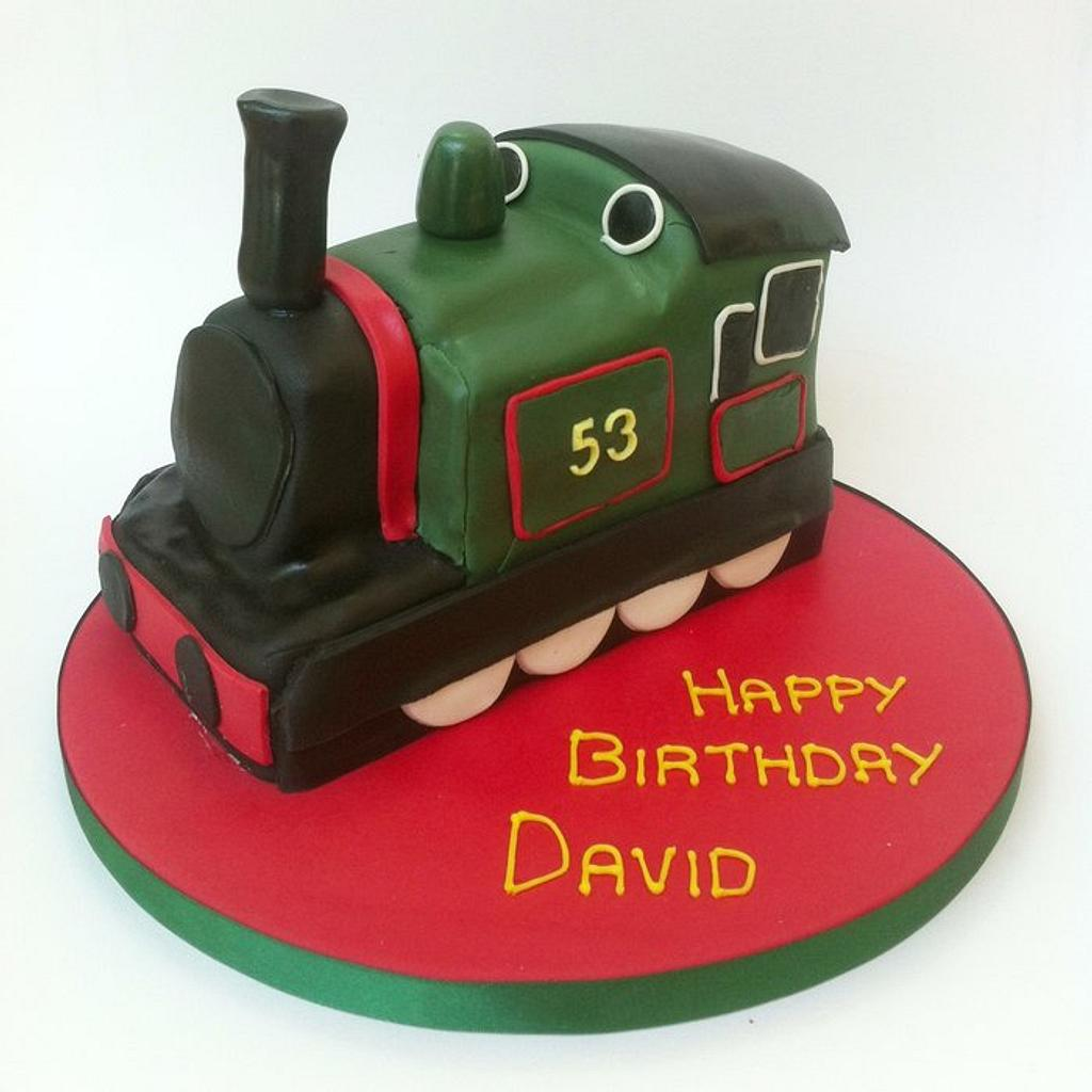 Steam Train Cake by Claire Lawrence