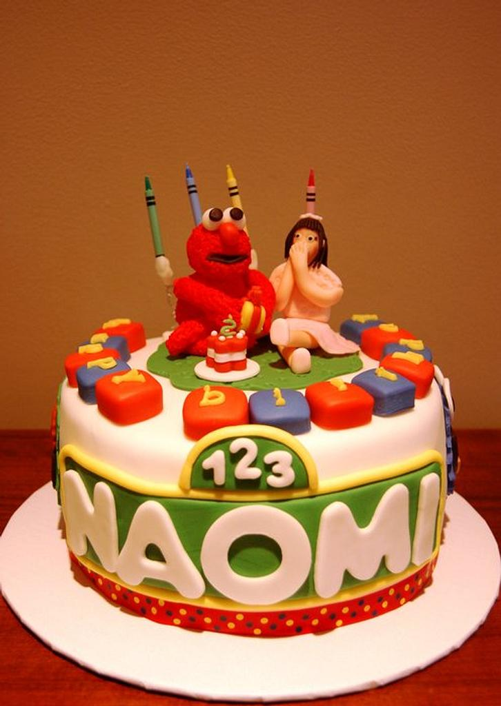 ELMO BIRTHDAY CAKE by funni