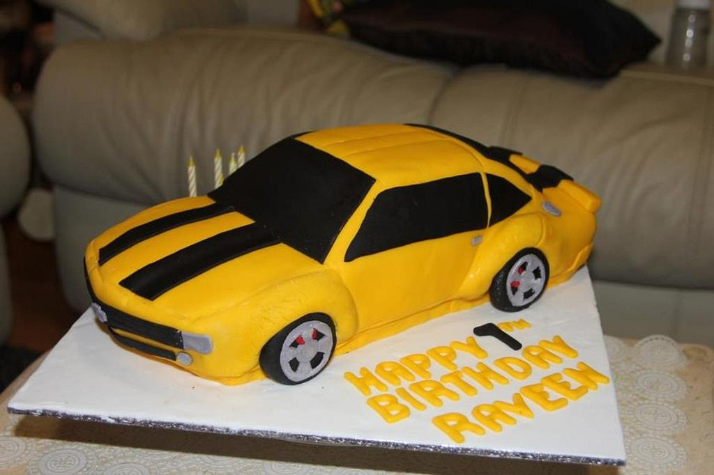 Bumble Bee Car Cake by MyCreations
