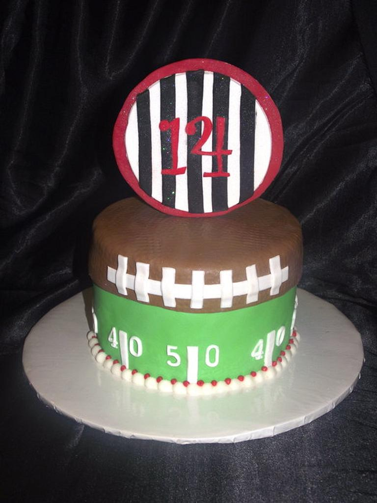 Football Cake! by Jacque McLean - Major Cakes