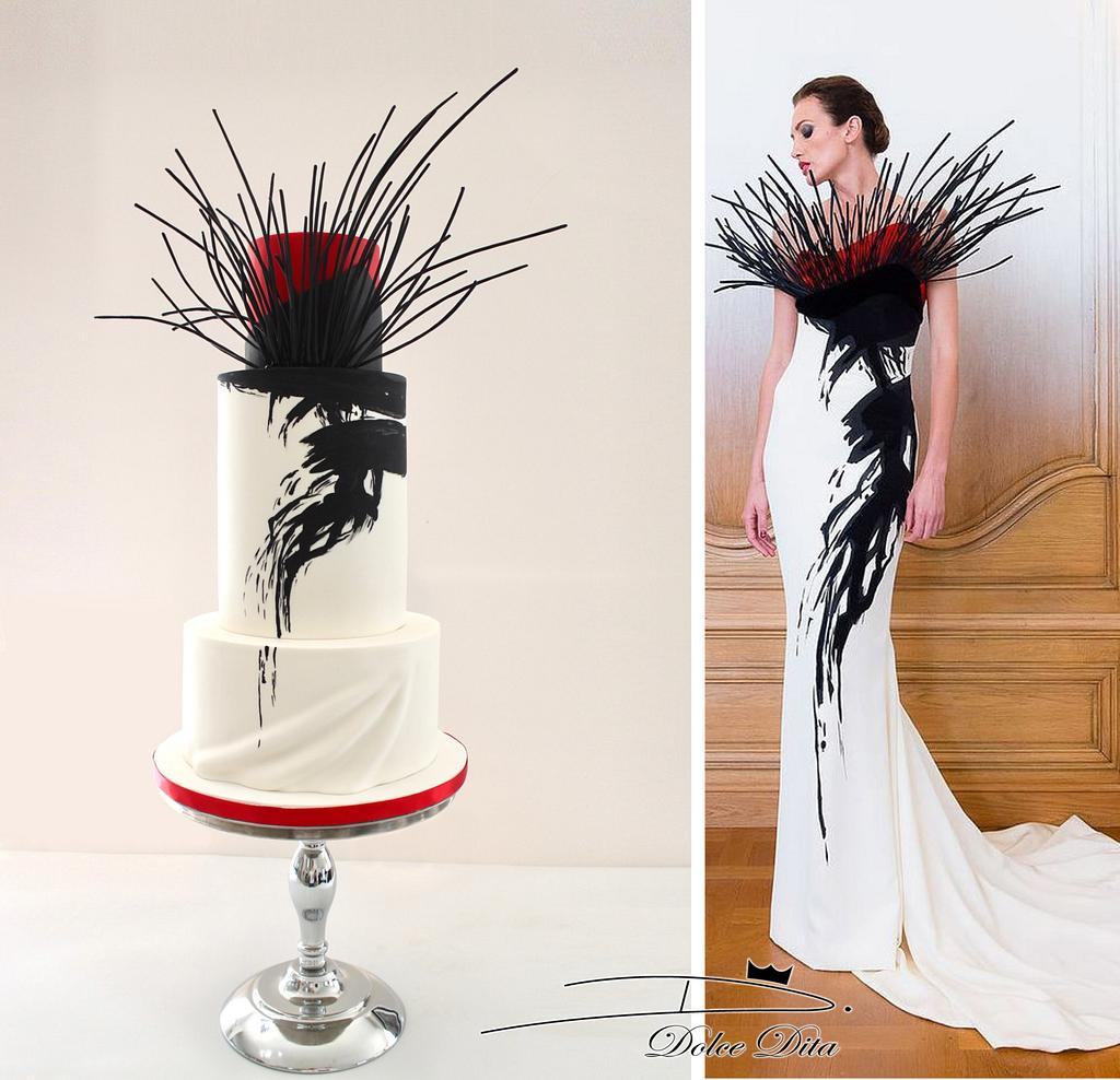 Couture Cakers International 2018: 'Branches' by Dolce Dita