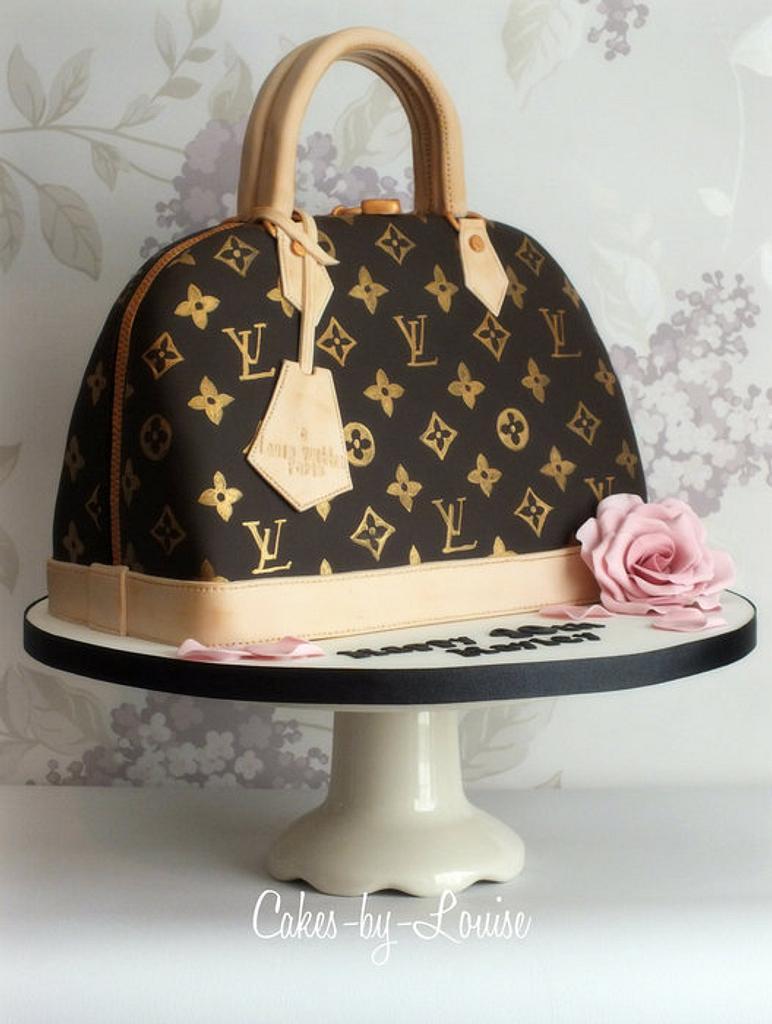 Louis Vuitton Handbag Cake by Louise Jackson Cake Design