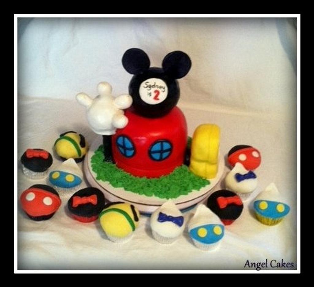 Mickey Mouse Clubhouse Birthday by Angel Rushing