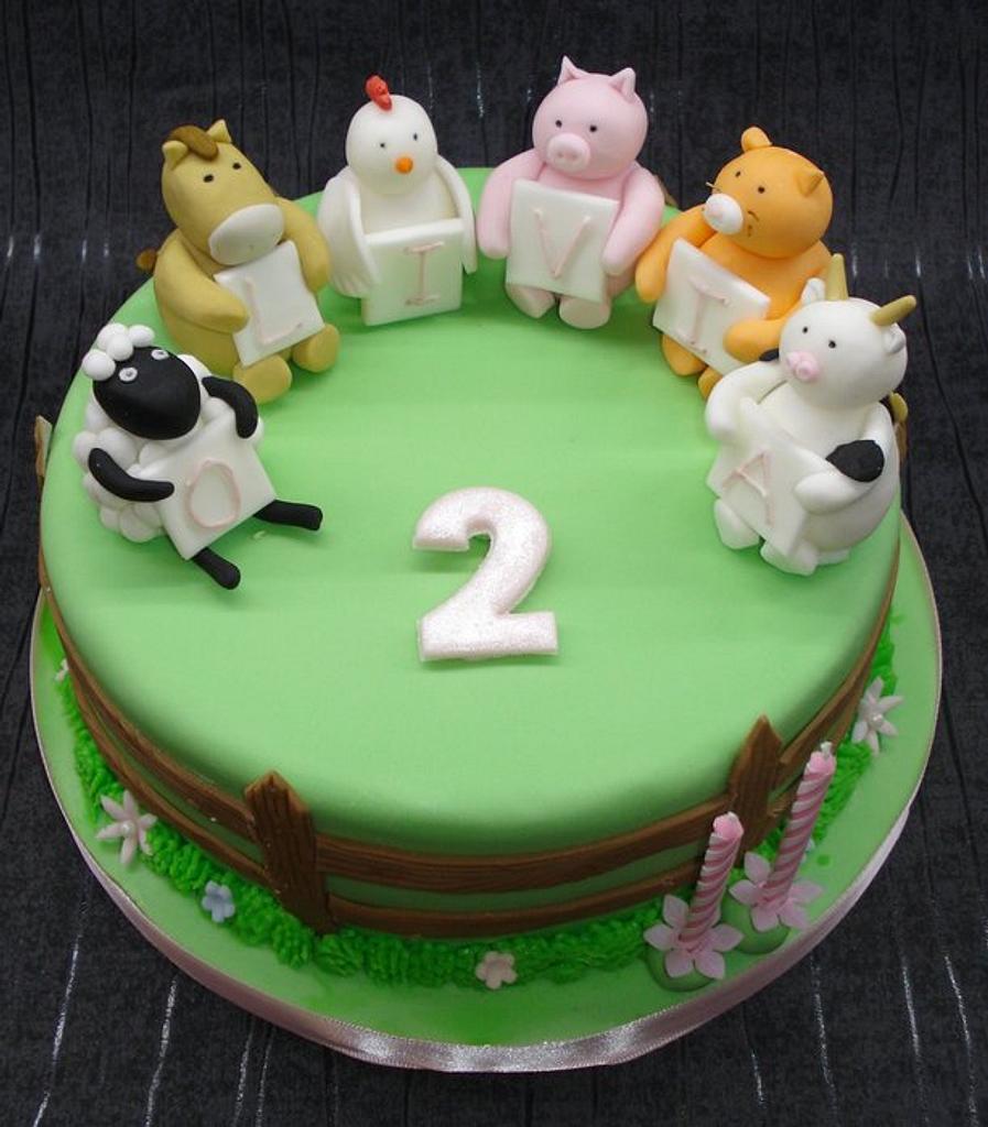 Farmyard friends by That Cake Lady
