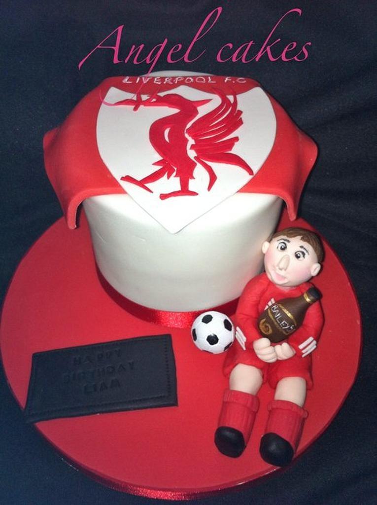 LFC mini cake by Sally O'Rourke