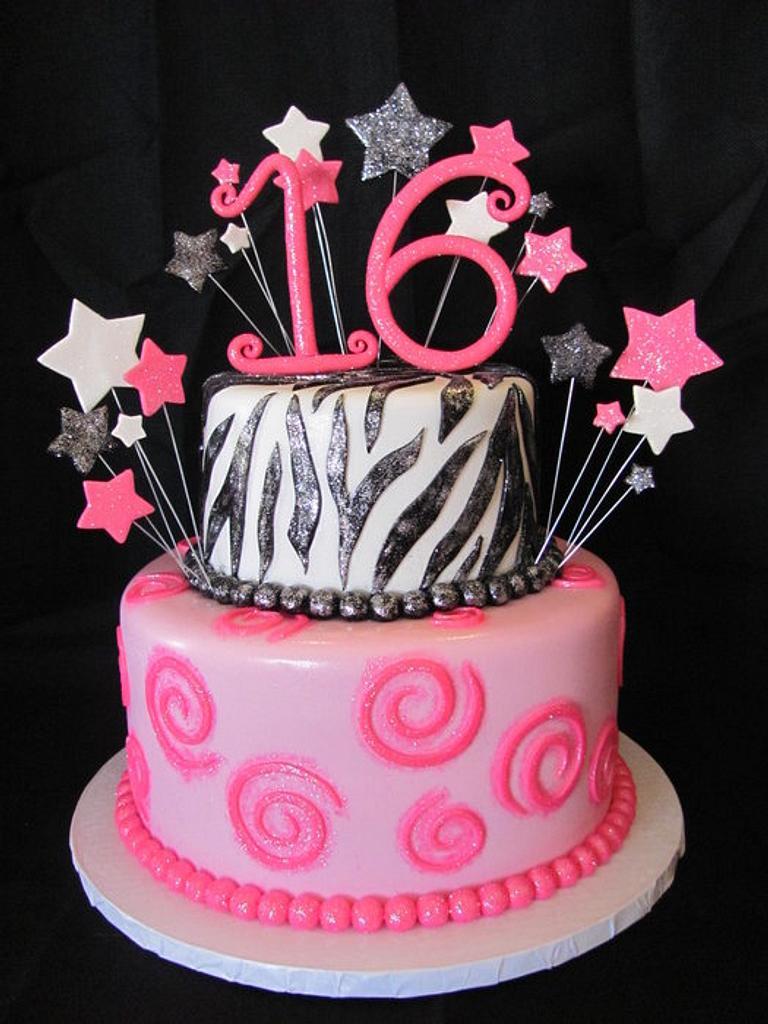 Sweet 16 Cake by Jennifer Watson