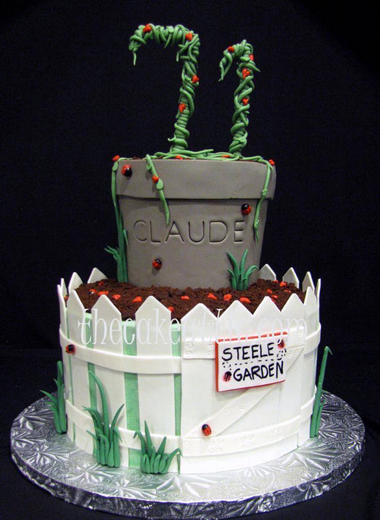 Gardening cake by Soraya Avellanet