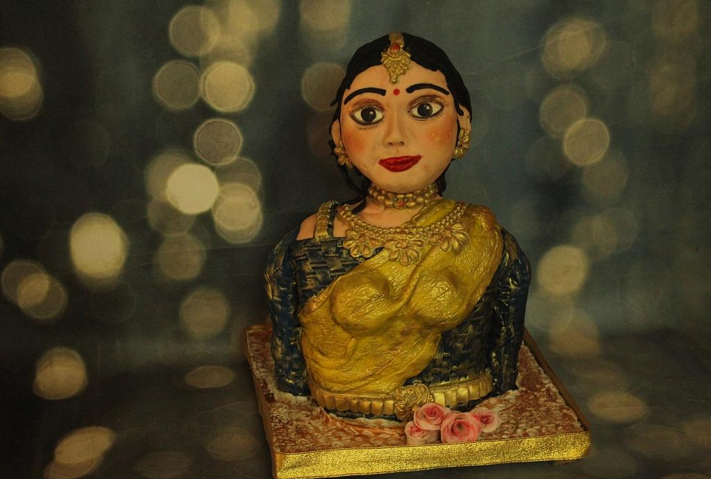 Rekha:Indian Lady Bust by Dr RB.Sudha