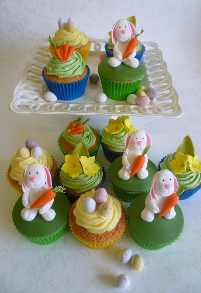 Easter Cupakes by Marcia Campbell