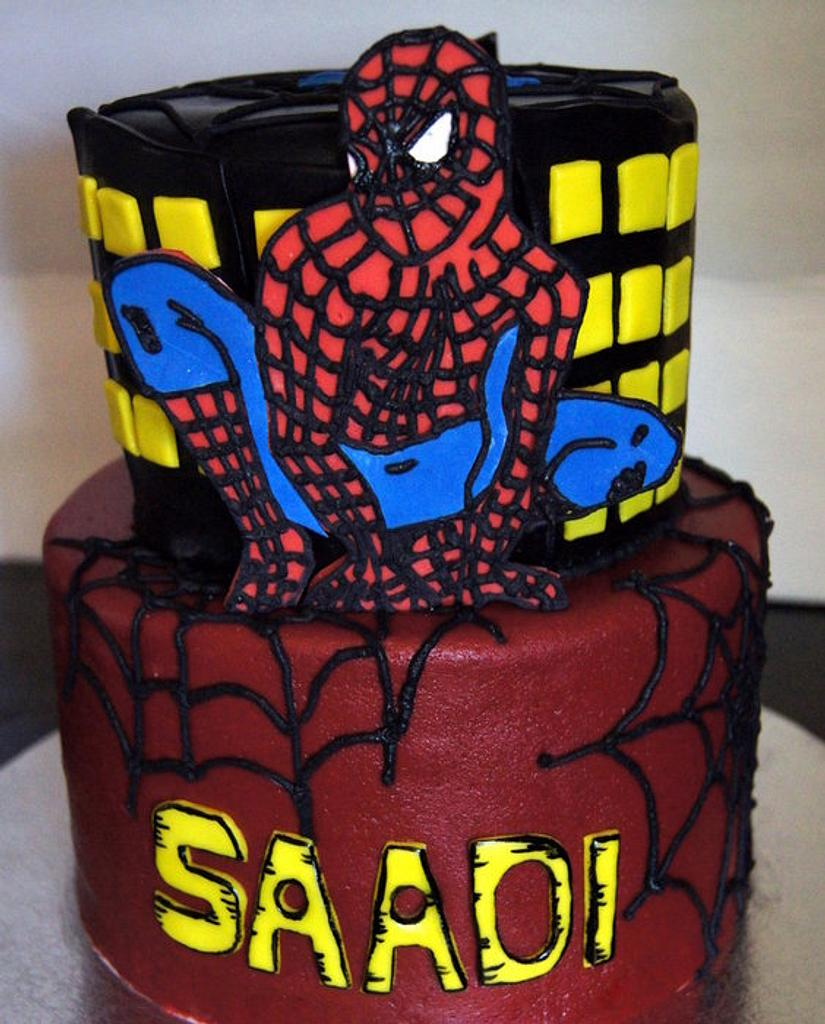 Spiderman Cake by Sylvia Cake