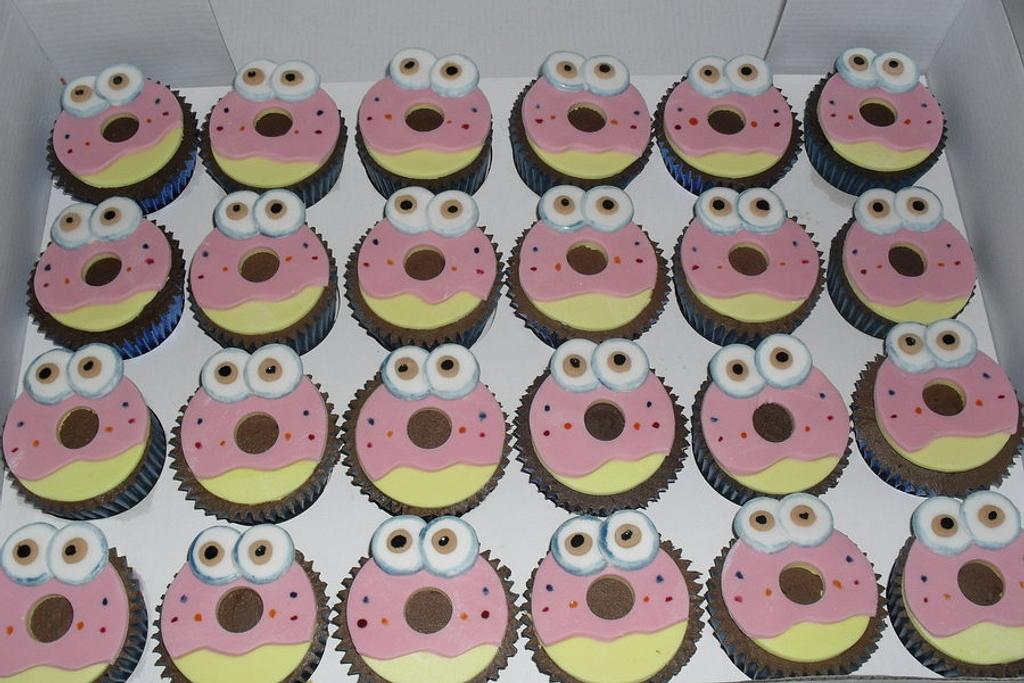 oddie cupcakes by David Mason