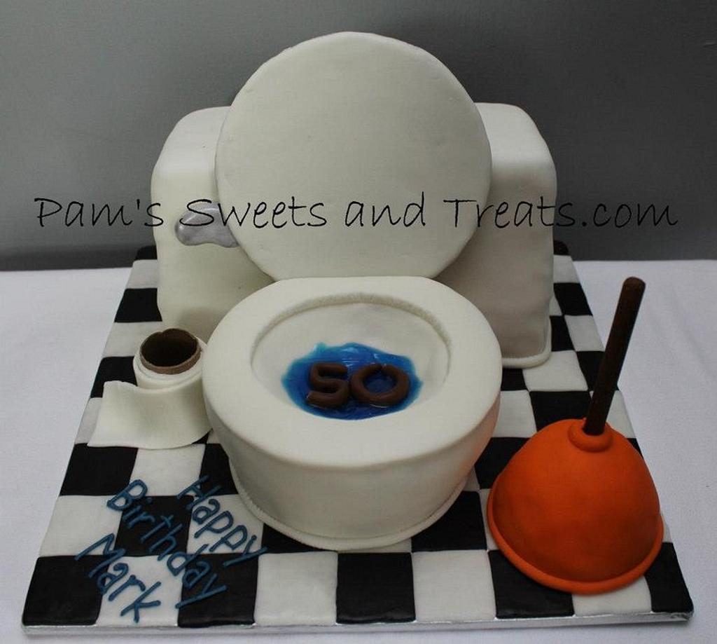 Toilet Cake by Pam