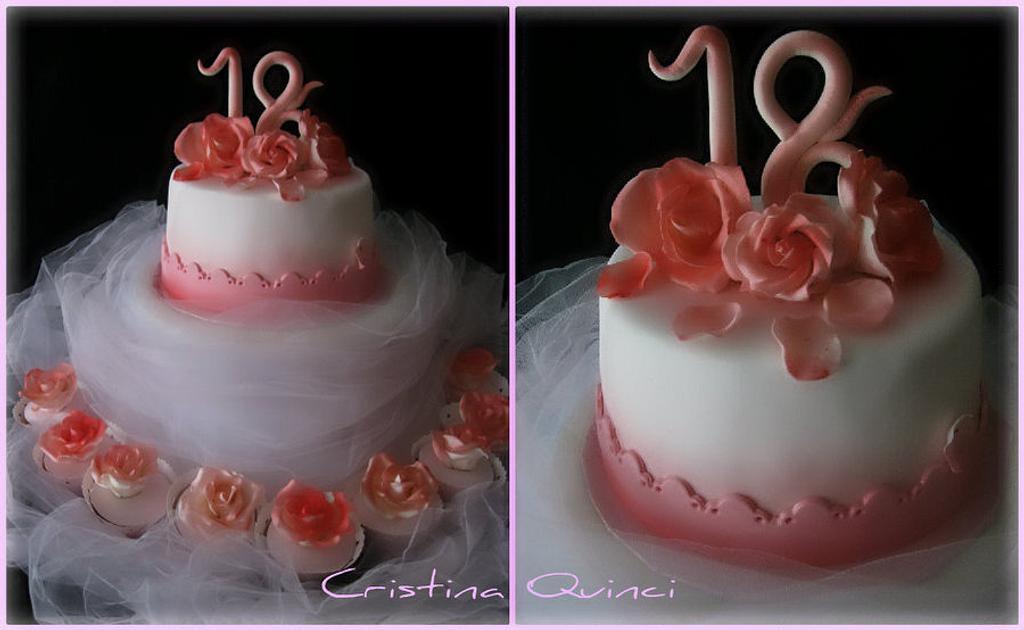 Cake rose by Cristina Quinci