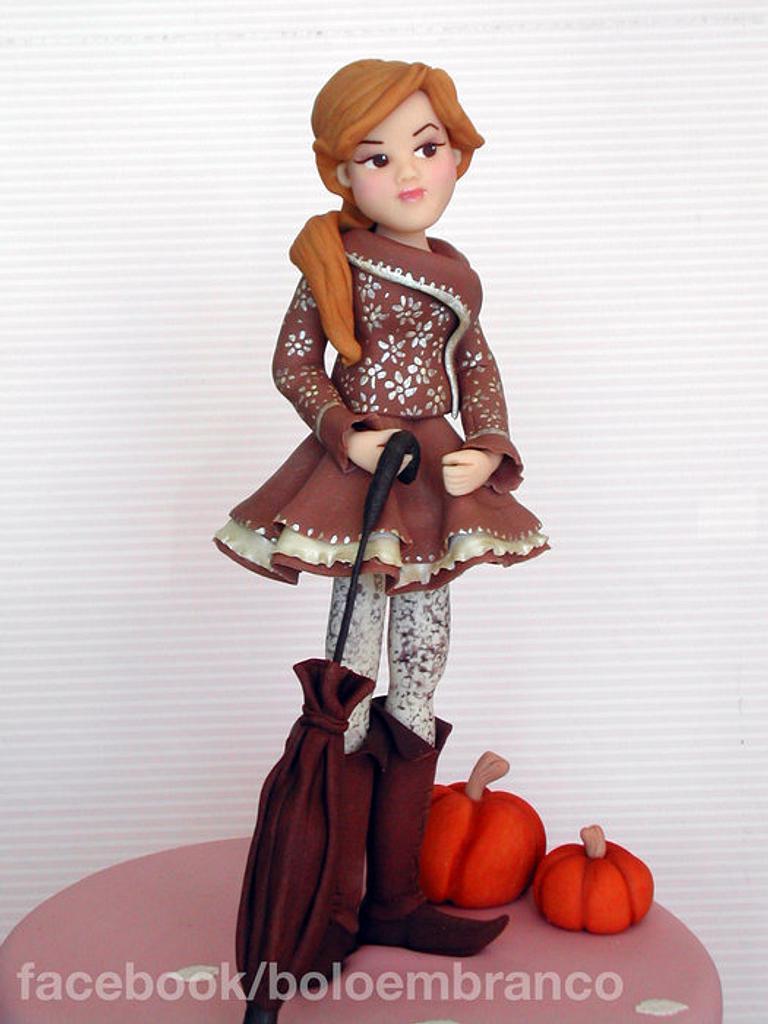 Autumn Girl by Bolo em Branco [by Margarida Duarte]