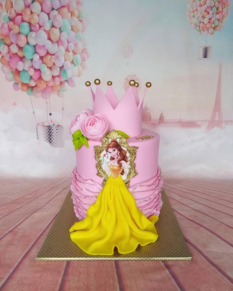 Princess Cake by Zaklina