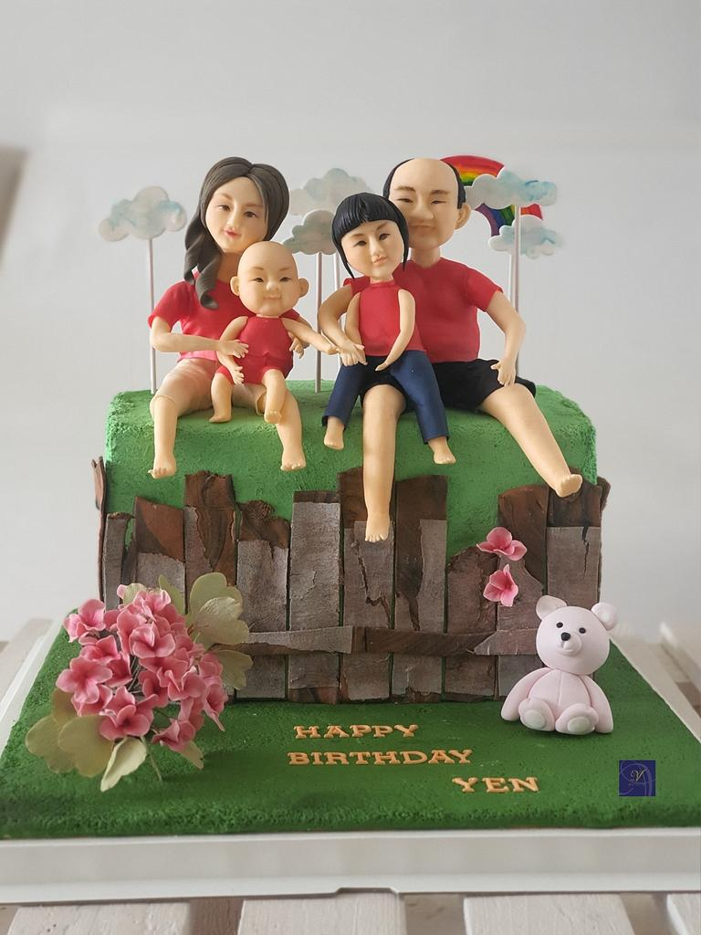 Happy Family by Ms. V