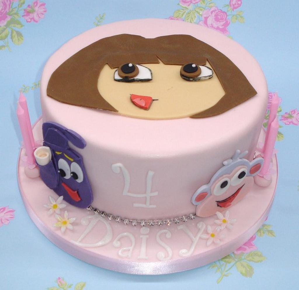 Dora cake by That Cake Lady