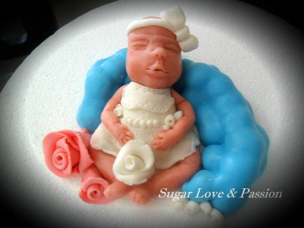 Sleeping baby by Mary Ciaramella (Sugar Love & Passion)