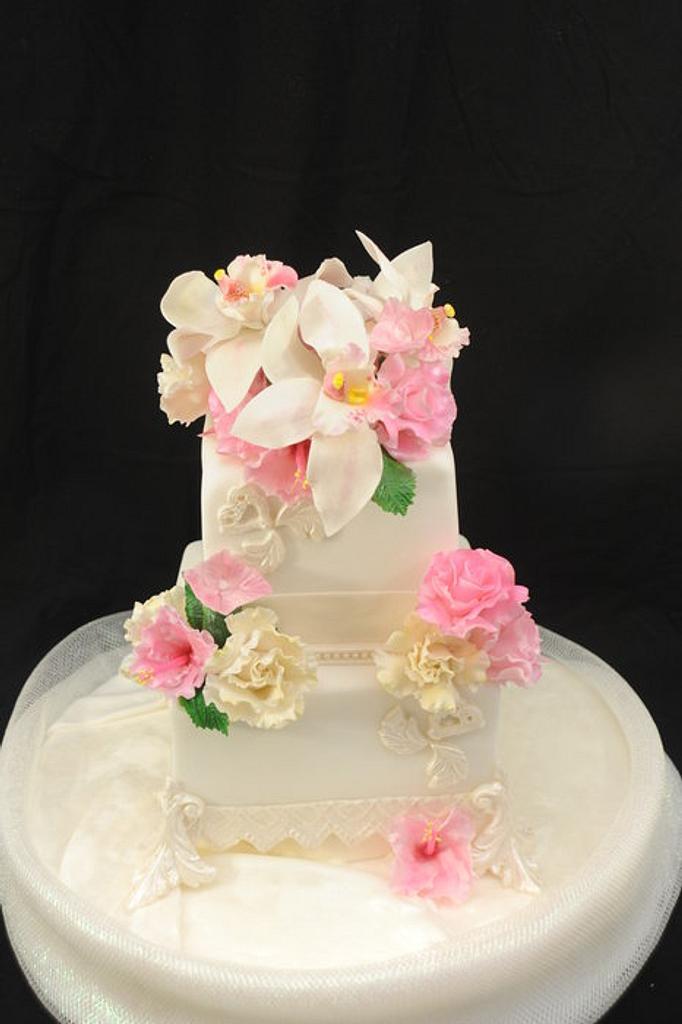 My Birthday/ Anniversary Cake by Sugarpixy